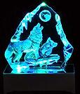 LED Howling Wolves Iceberg
