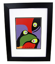 John Christopher Print Lost Birds First Nations Cree Artist