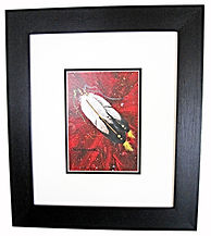 eagle feathers bradly macdonald cree artist