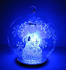 angel in globe led colour changing