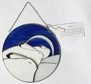 rick beaver snow hares suncatcher first nations