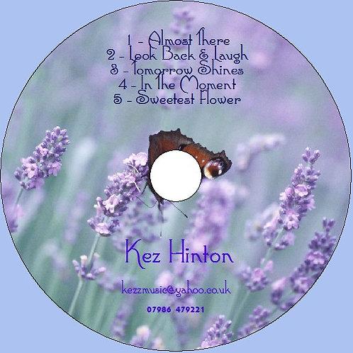 5 Track Physical CD - Kez Hinton