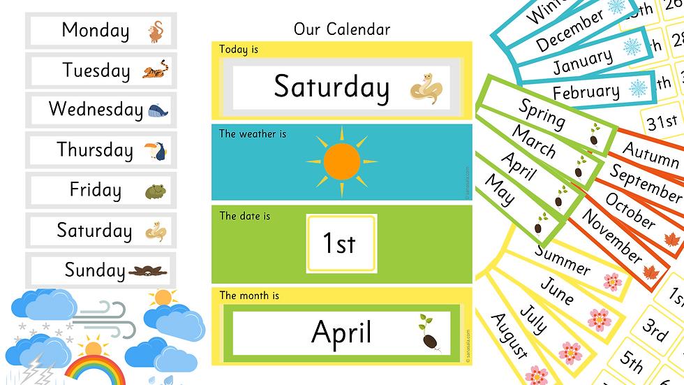 Kalenteri ja sää