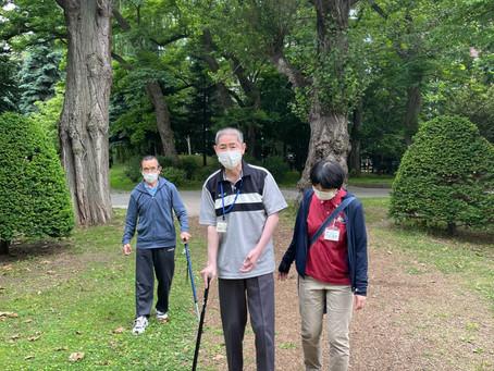 屋外歩行🌞~中島公園・豊平館編~