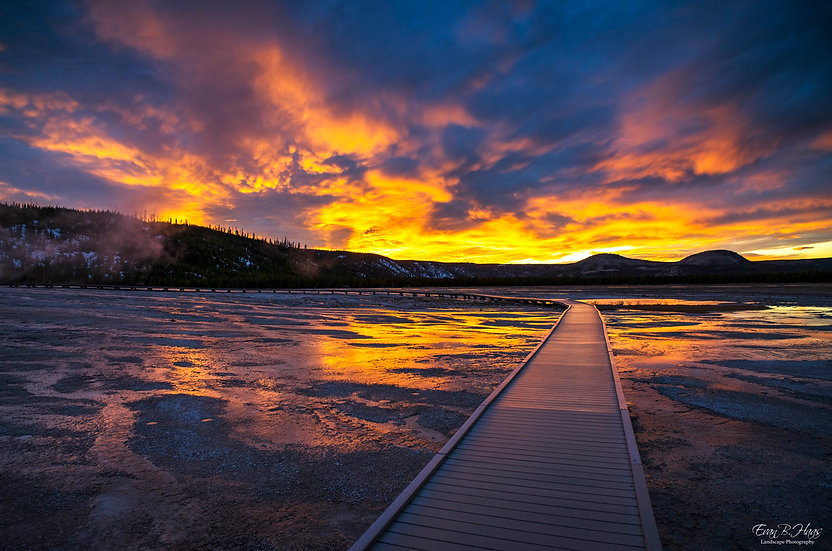 Grand Prismatic Sunset
