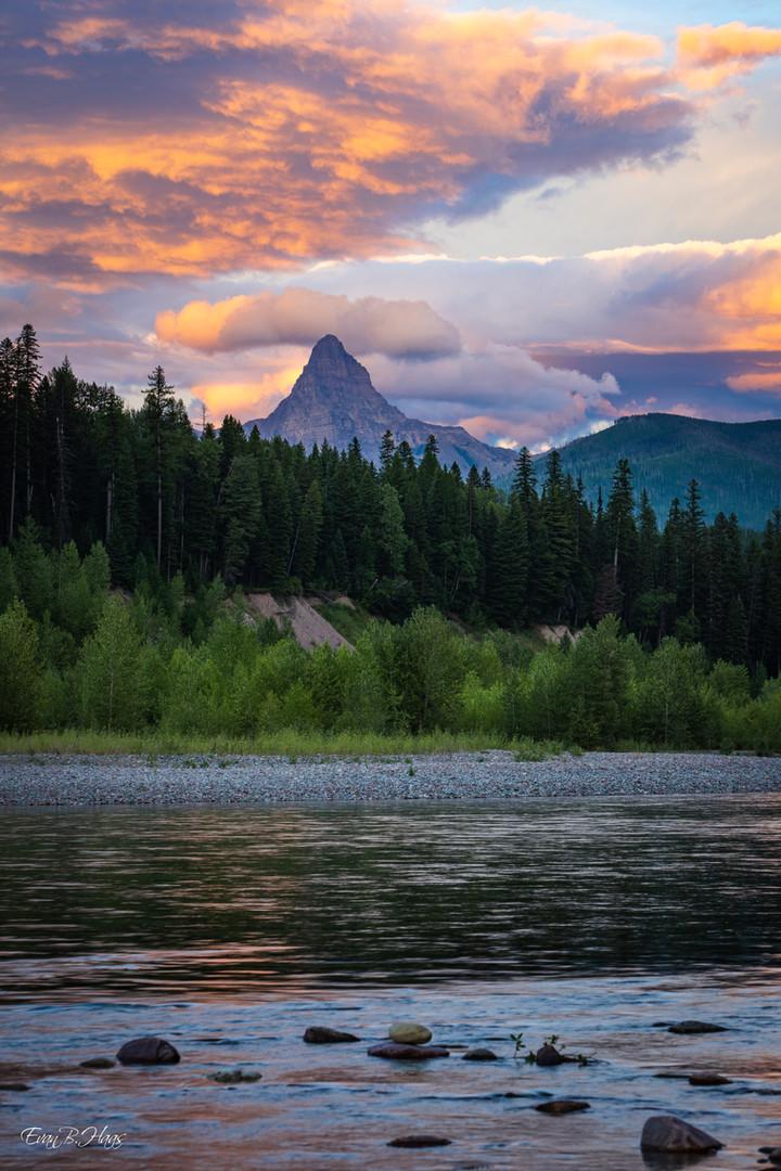 Mt Saint Nicholas Sunset