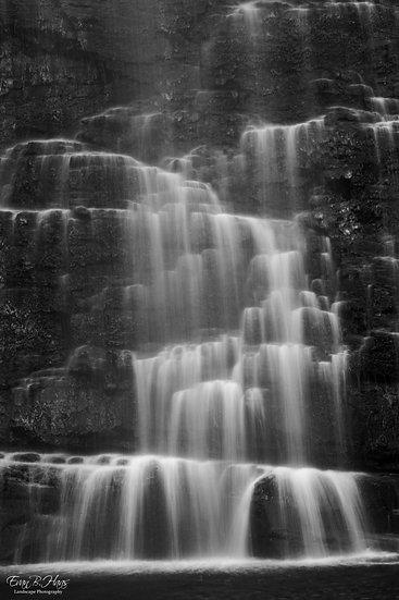 Virginia Falls B&W