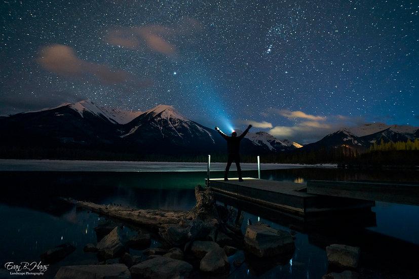 Vermillion Lakes Night