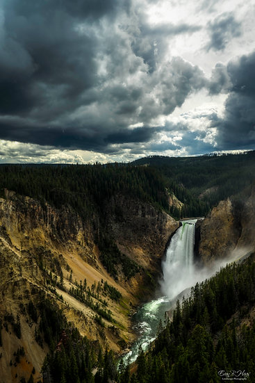 Lower Falls Storm