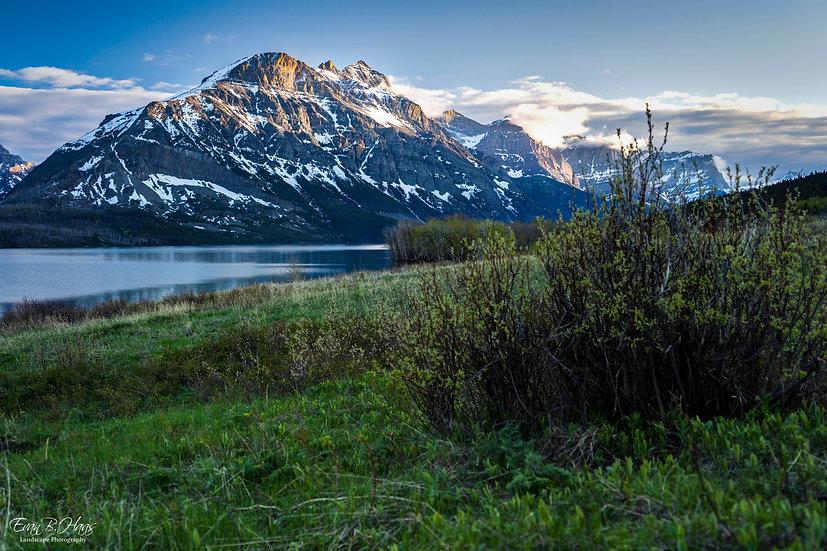 Evening Light Mountain