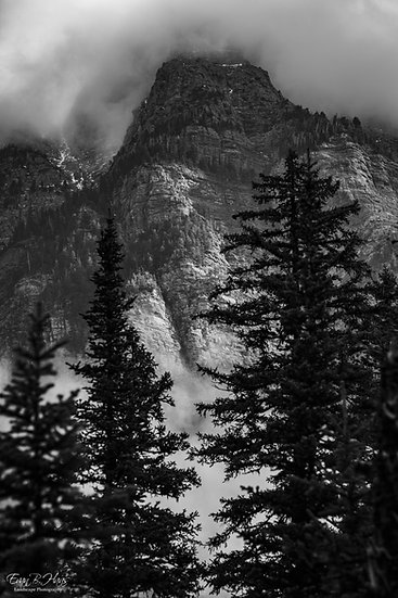 Avalanche Lake Headwall