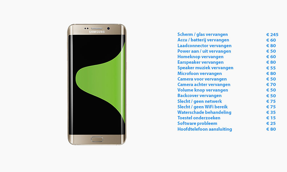 Telefoon smartphone tablet reparatie zwolle iphone apple samsung lg huawe lenovo motorola scherm display reparatie accu waterschade