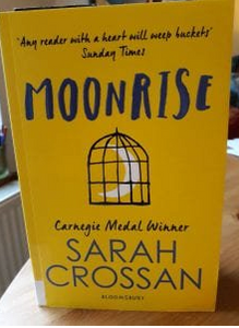 Book cover - Moonrise by Sarah Crossan