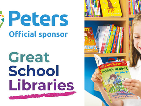 Peters are the official sponsor of Great School Libraries!