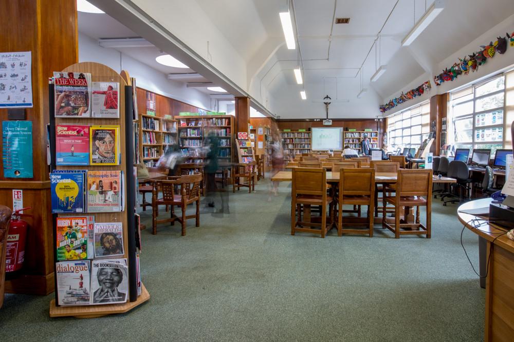 St Benedict's Senior Library