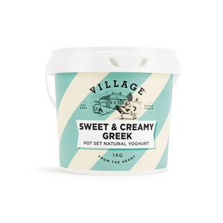 SWEET & CREAMY GREEK