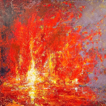 Fire on Water (Ode to Turner)