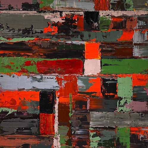 Fata Morgana (Red, Green & Black)