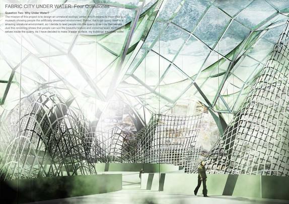 "Walking inside the ""Fabric City"""