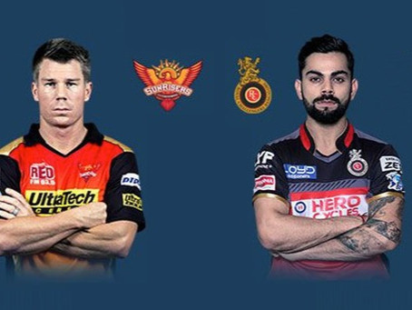 Sunrisers Hyderabad Vs Royal Challengers Bangalore: Head to Head, Pitch Report,Probable 11,Dream 11