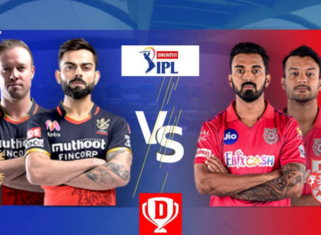 Kings XI Punjab Vs Royal Challengers Bangalore: Head to Head, Pitch Report, Probable 11,Dream11 team