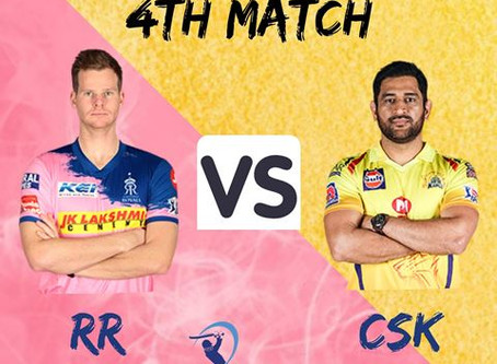 Rajasthan Royals Vs Chennai Super Kings: Head to Head, Pitch Report, Probable 11, Dream 11 team