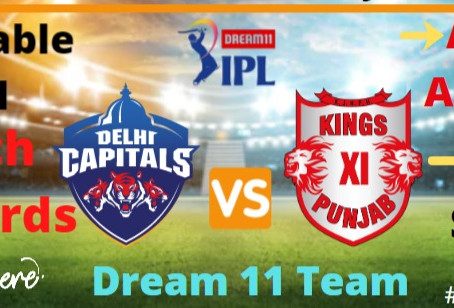 Delhi Capitals Vs Kings Xi Punjab: Head to Head, Pitch Report, Probable 11, Dream 11 team