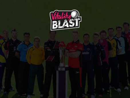 Vitality T20 Blast started!! Match day-1 Report