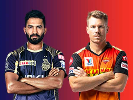 Kolkata knight Riders vs Sunrisers Hyderabad:Head to Head, Pitch Report, Probable 11, Dream 11 team