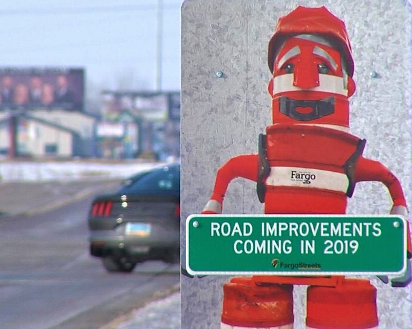 Cass County, Fargo, West Fargo 2019 roadwork