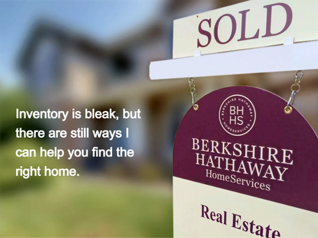 Buyer Tips in a Sellers' Market