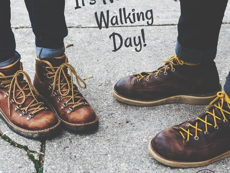 It's National Walking Day!