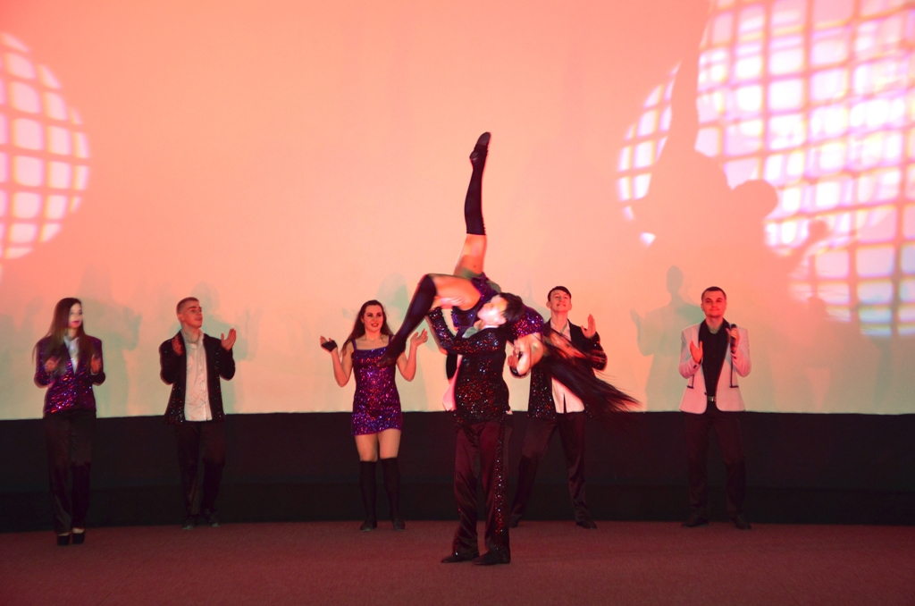 Ансамбль Юность Днепра  День танца  концертный зал Спутник  29.04.16     17