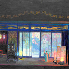 5. Watercolour and drawing: Austrian painters with Japanese motives