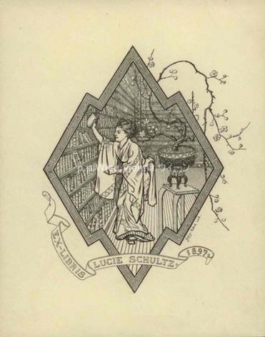 Ex Libris Lucie Schultz 1897