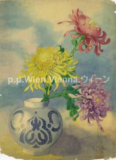 Chrysantheme in Vase