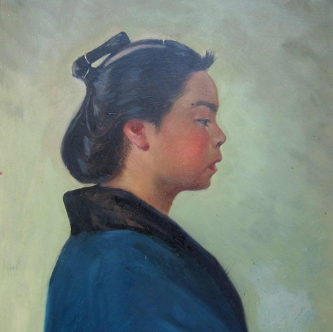 1. Oil painting and pastel: Austrian painters in Japan