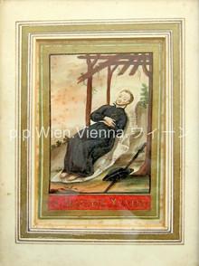 Der heilige Franz Xaver stirbt auf der Überfahrt von Japan nach China