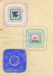 Entwurf für drei Schalen