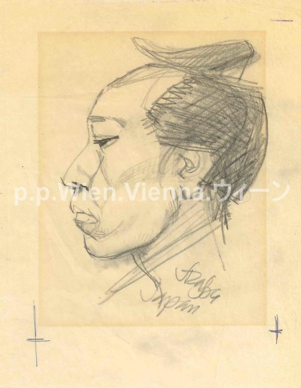 Kopf im Profil