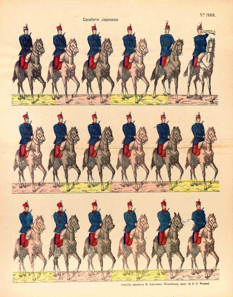Cavallerie Japonaise