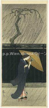 """""""Dame im Regen"""""""