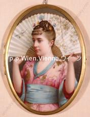 """""""Junge Dame in japanischer Kleidung"""""""