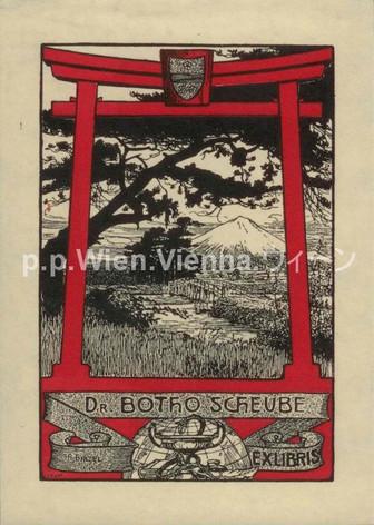 Dr. Botho Scheube Ex Libris