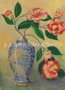 Kamelien in Vase