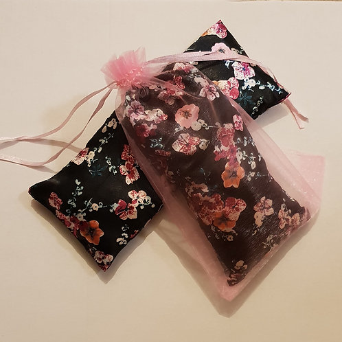 Black with Pink Blossom