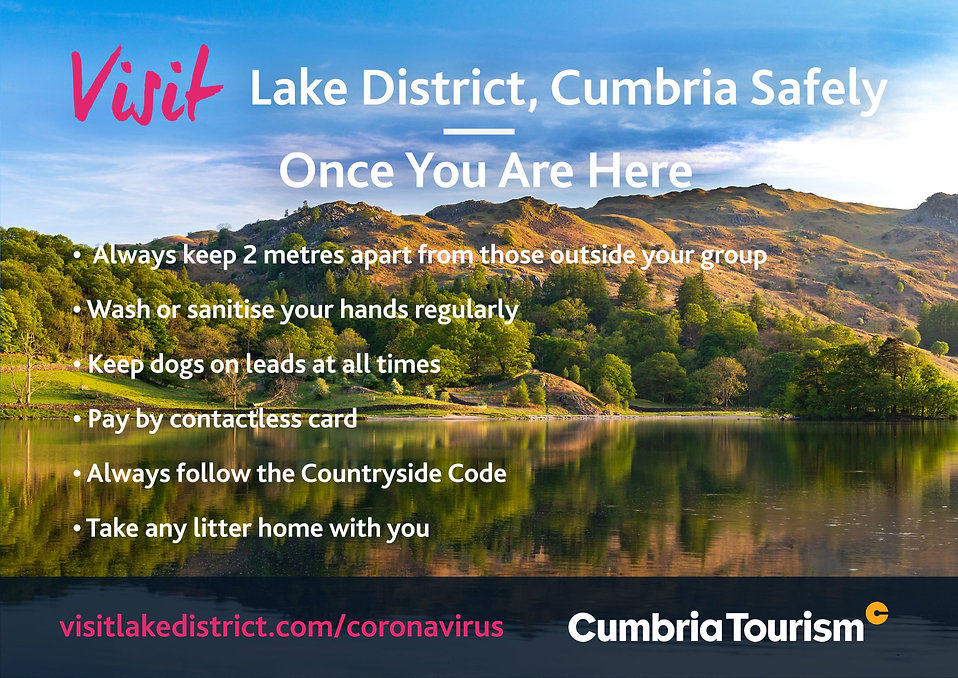 Visit the Lake District Safely, Once You Are Here