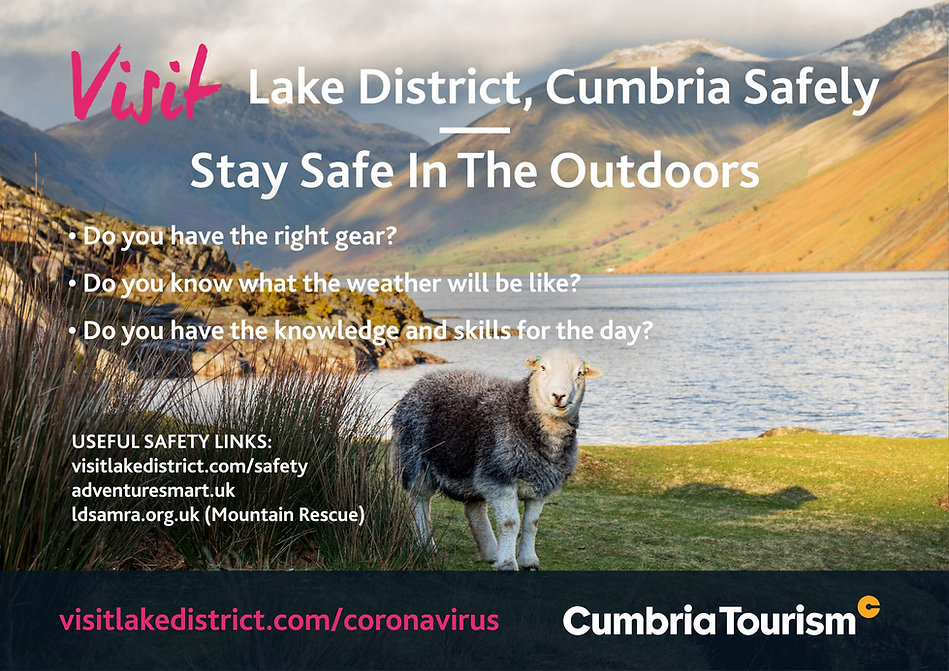 Visit the Lake District, Stay Safe in the Outdoors