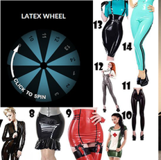 If chris doesn't spin my wheel and buy me a new #latex outfit I'm going to show the world his stupid face!!