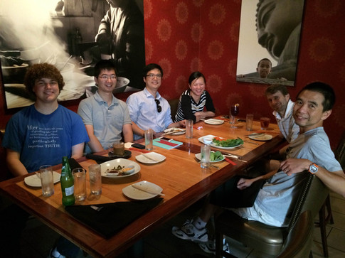 Lab lunch at Jujube (2016)